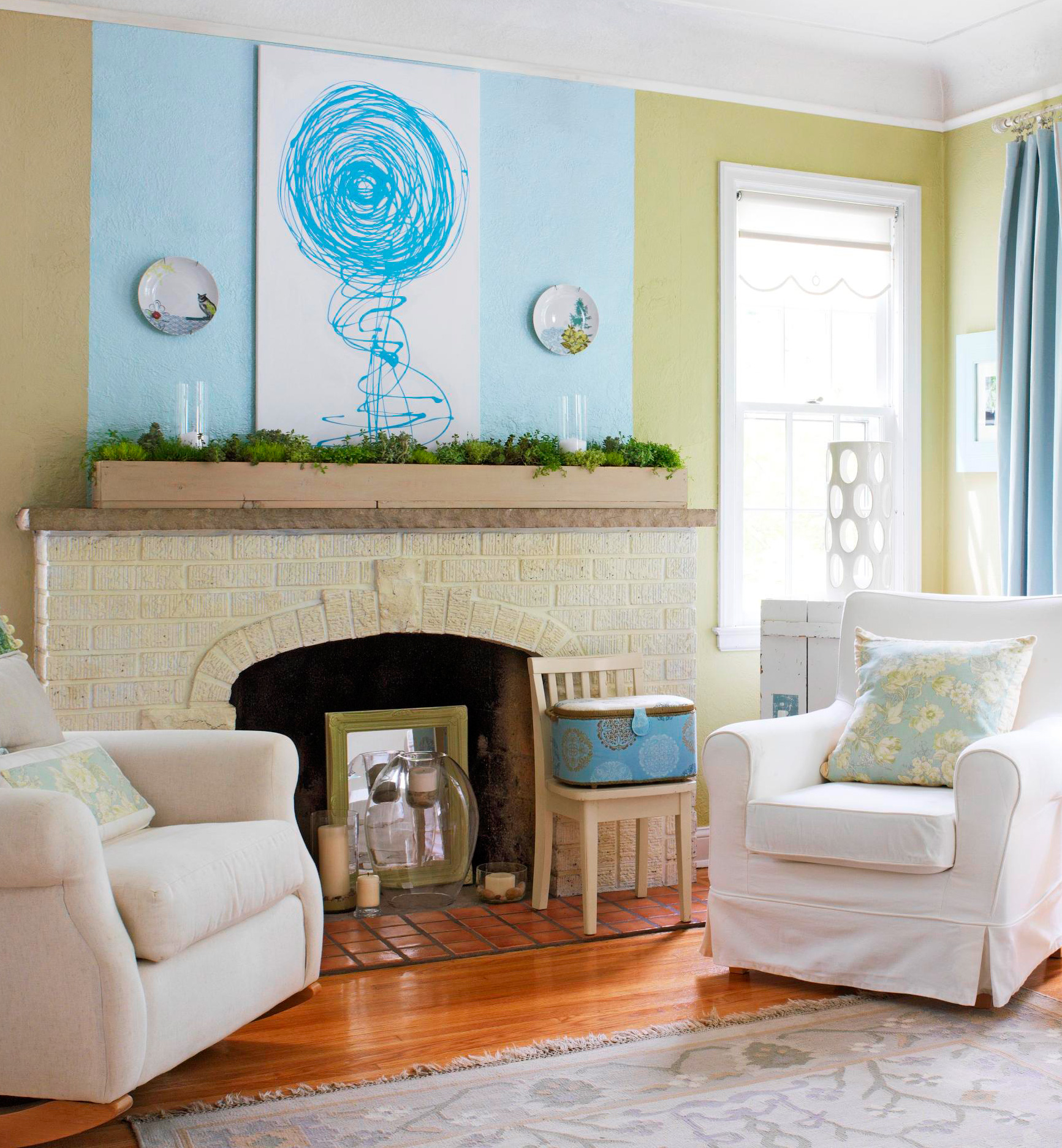 Paint a focal point