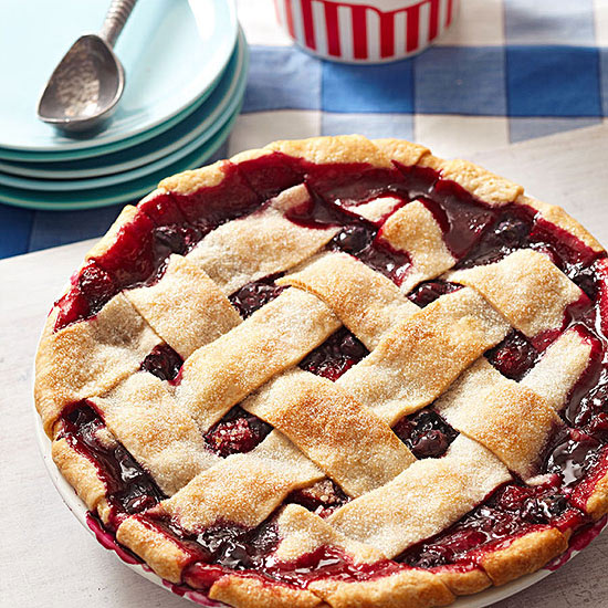 Very Berry Triple Fruit Pie