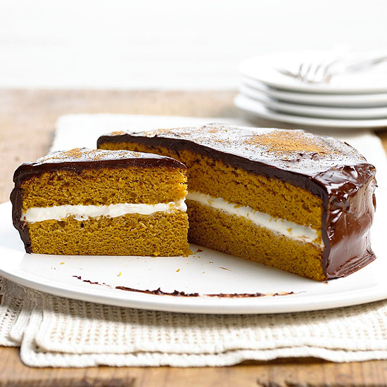 Pumpkin Cream Cheese Sandwich Cake