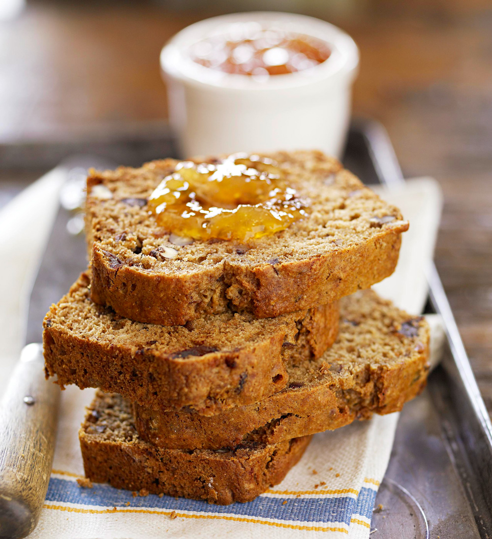 Maple Date Nut Bread