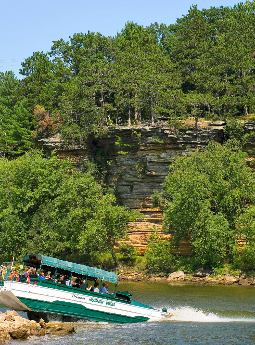 Things to Do in the Wisconsin Dells--Original Wisconsin Duck Tours