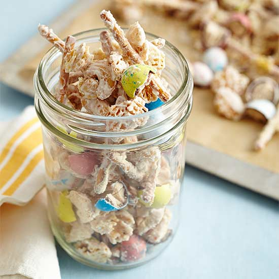 Double-Malted Easter Snack Mix