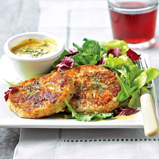 Salmon-Potato Cakes