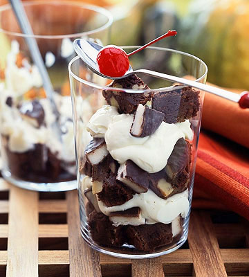 Brownie Parfaits