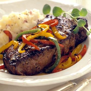 Sweet-Pepper Steak