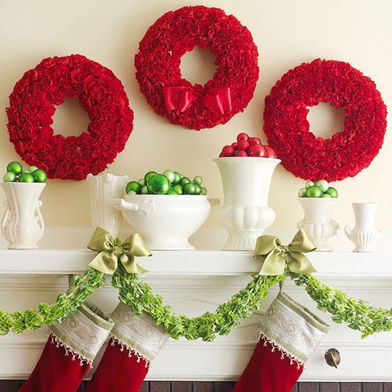 Christmas carnations