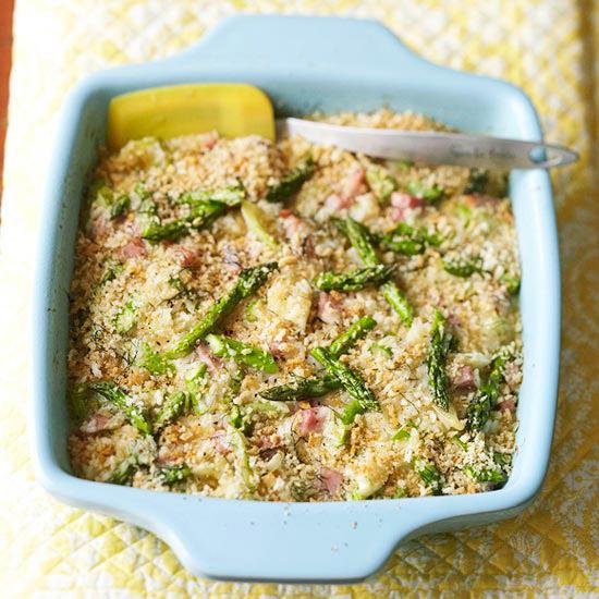Asparagus-Ham Bake