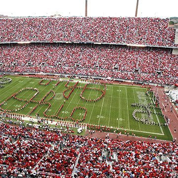 Ohio Stadium in Columbus, Ohio