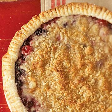 Cherry-berry pies