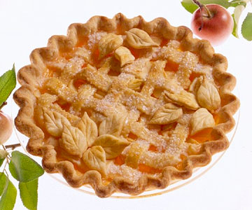 Apple Maple Cream Pie