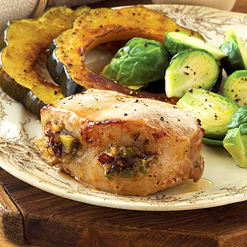 Badgersett's Stuffed Pork Chops
