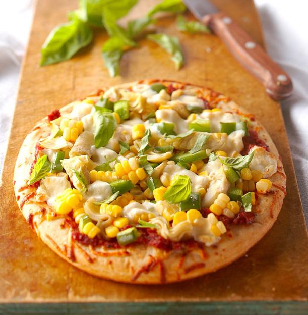 Sweet Corn Pizza