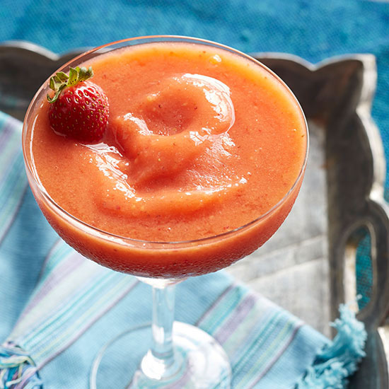 Frozen Strawberry-Mango Margarita