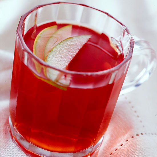 Hot Strawberry Cider