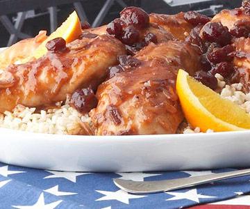 Chef Joe's Cranberry-Orange Chicken