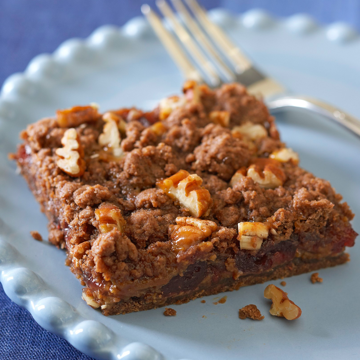 Cranberry Candy-Bar Cookies