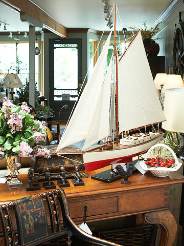 Get a stylish look without pricey antiques