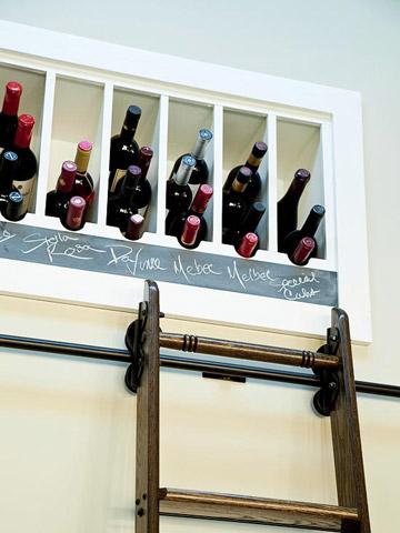 Better bottle storage