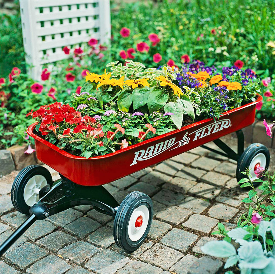 Garden on wheels