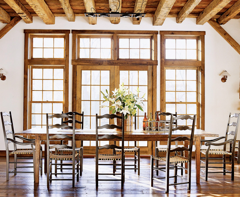 Bright and rustic