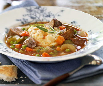 Indiana: Potato-Topped Duck Stew