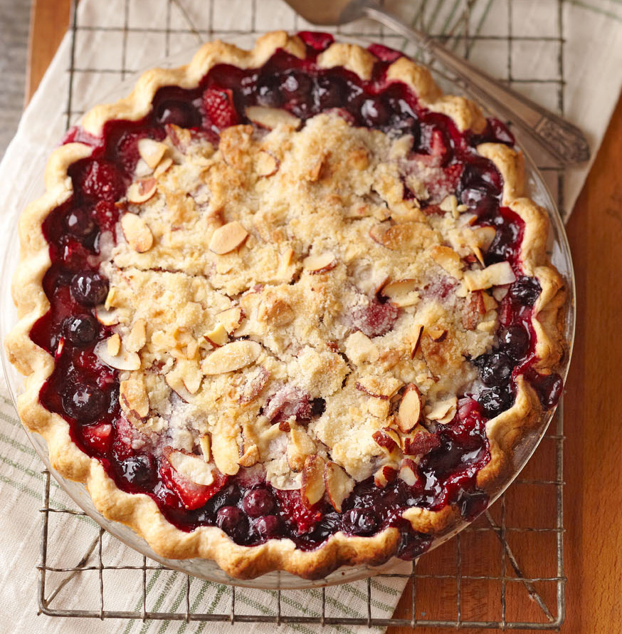 North Dakota Juneberry Pie
