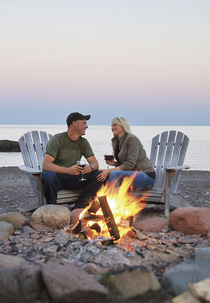 Between Two Harbors and Lutsen, Minnesota: Lutsen Resort and Grand Superior Lodge