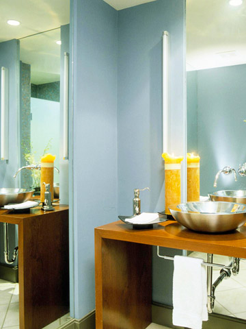 Upscale or upsize the mirror