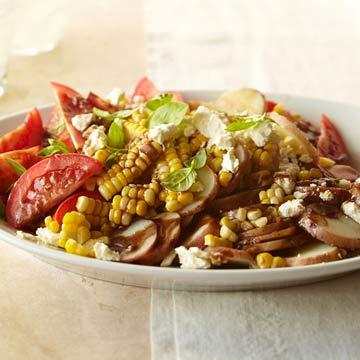 Summer Vegetable Potato Salad