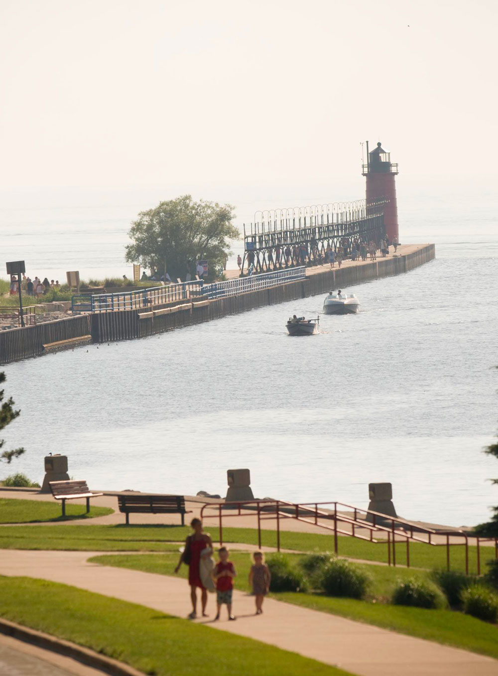Cool community in South Haven, Michigan