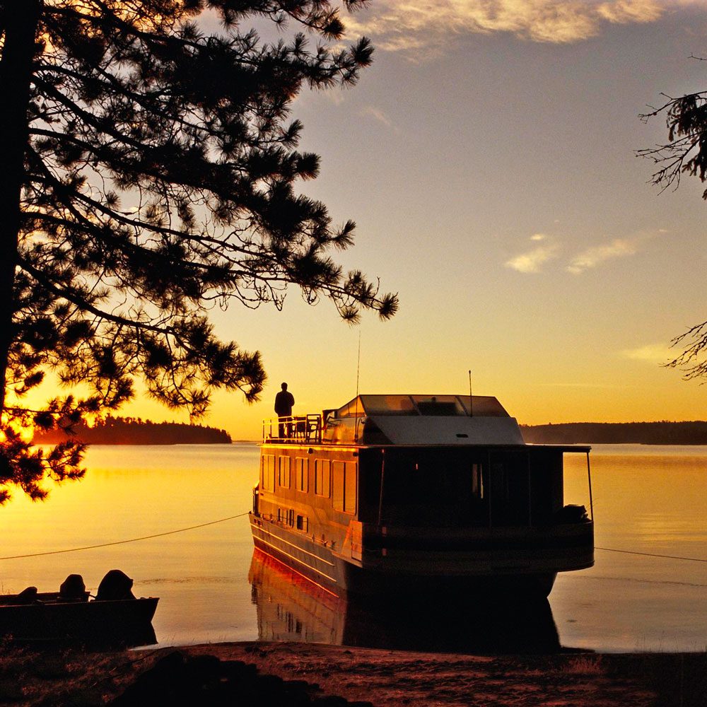 Cool solitude: Voyageurs National Park, Minnesota