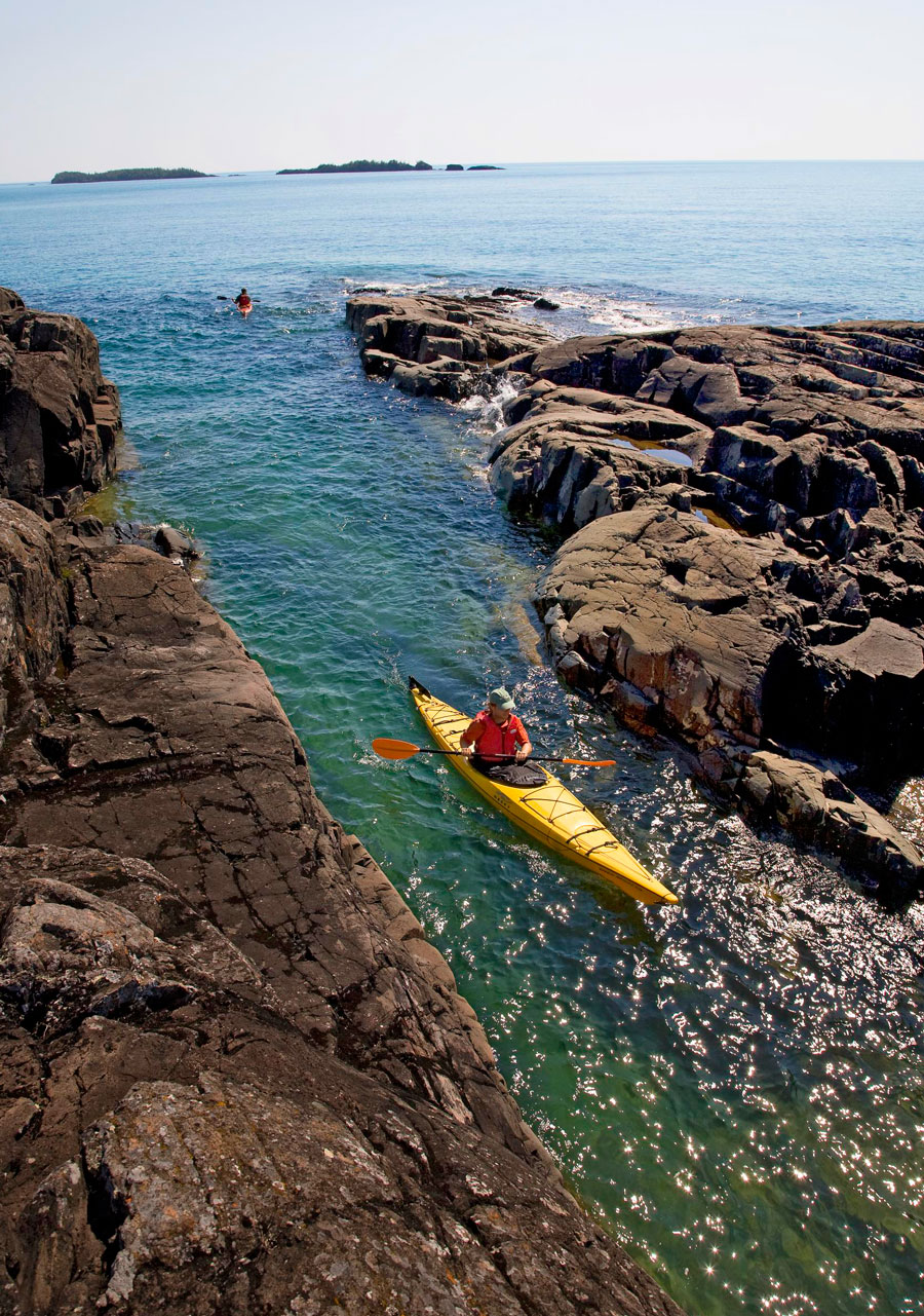 Cool island attitude: Isle Royale National Park, Michigan