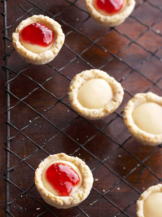 Strawberry Cheesecake Tartlets