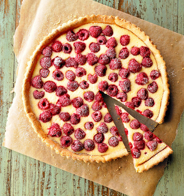 Raspberry Cream Tart