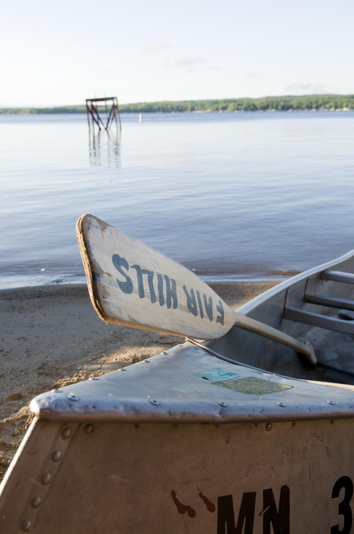 Canoe at Detroit Lakes' Fair Hills Resort