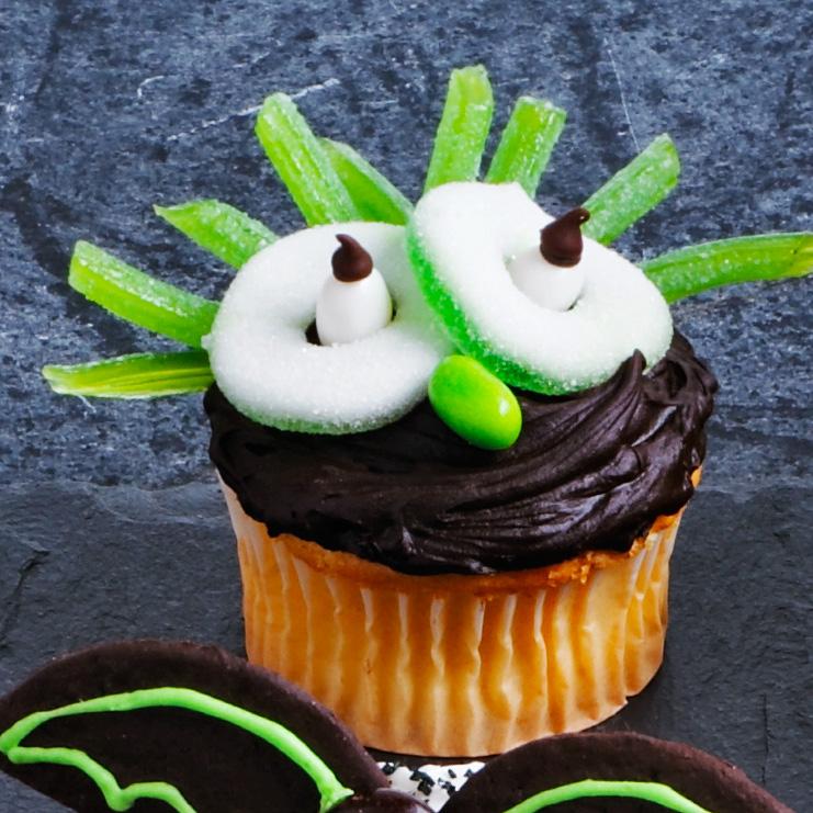Goblin Cupcakes