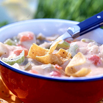 Tex-Mex Cheesy Chicken Chowder