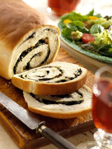 Spinach Pizza Bread