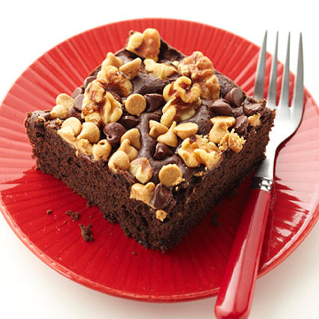 Fudgy Snack Cake