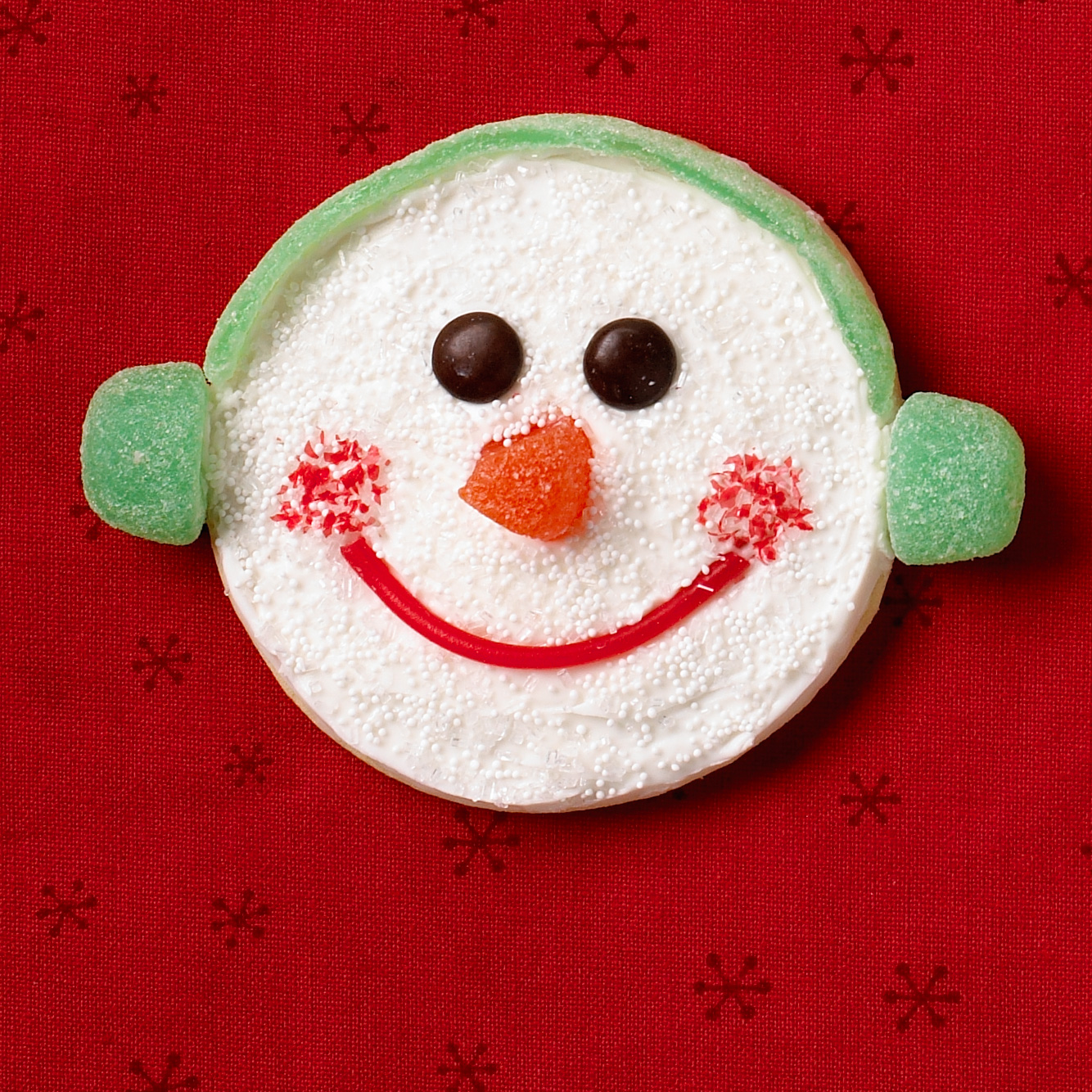 Happy-face cookie