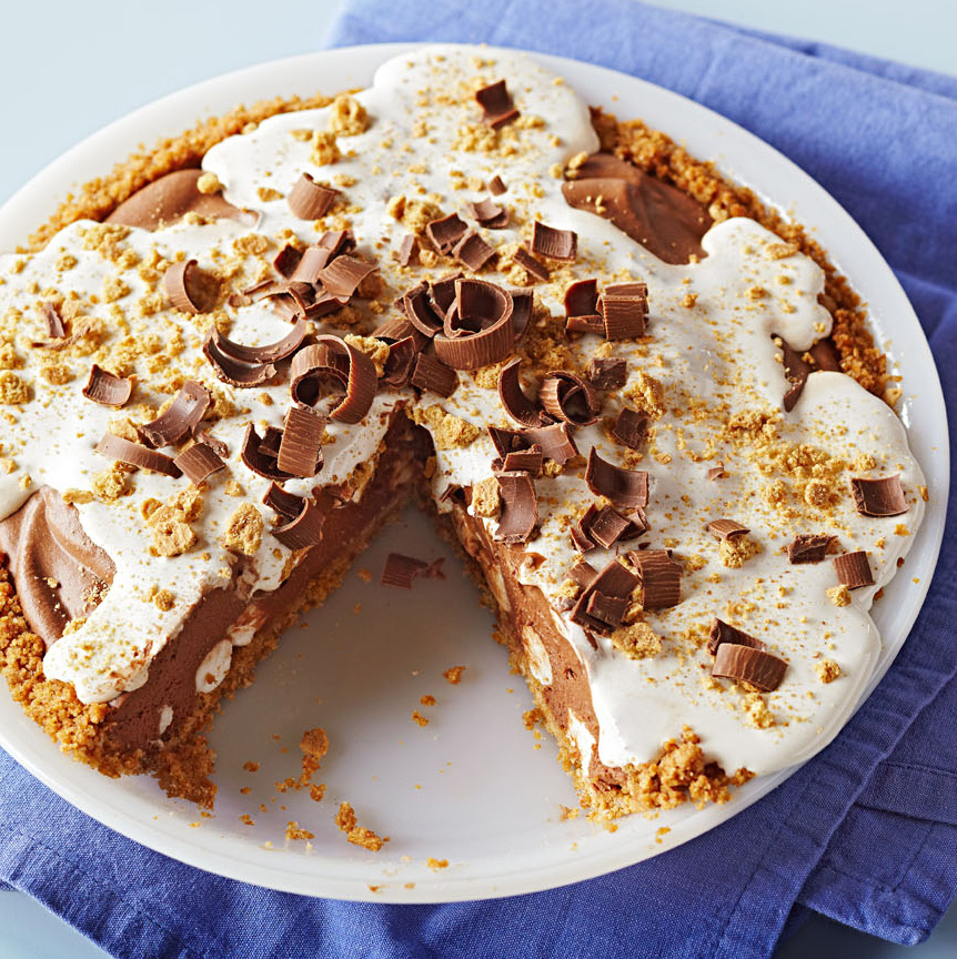 S'more Pie a la Marshmallow Crème