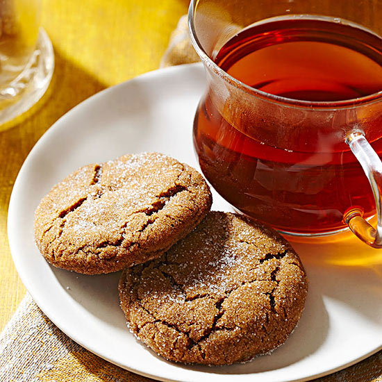 Quadruple Ginger Cookies