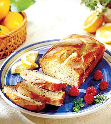 Lemon Thyme Tea Bread