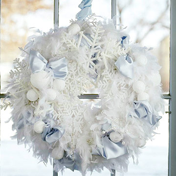 Ode to snow wreath
