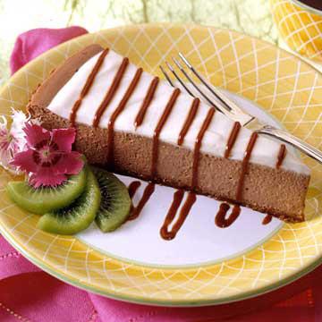 Chocolate-Bar Cheesecake