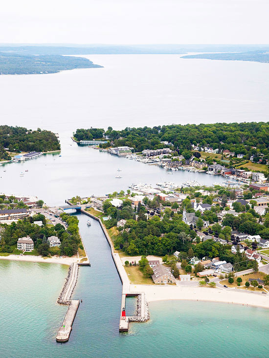Charlevoix: An easygoing beach town with a triple lakefront