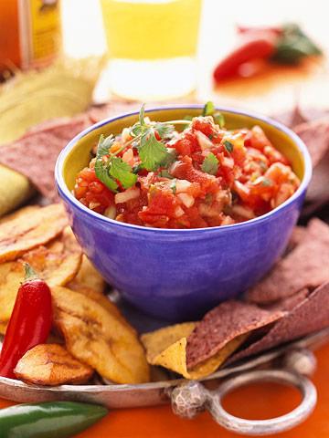 Roasted-Tomato Salsa