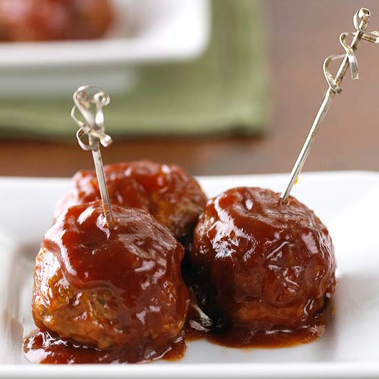Cranberry-Barbecue Meatballs