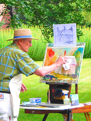 Things to Do in the Amana Colonies--Art classes