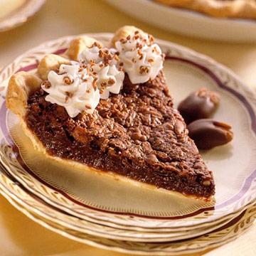 Chocolate-Pecan Whiskey Pie